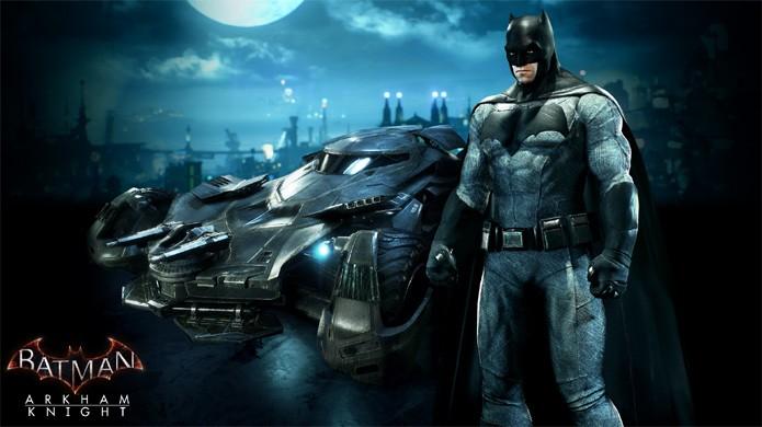 Batman: Arkham Knight receberá roupa do filme Batman v Superman com o ator Ben Affleck no papel do herói (Foto: Reprodução/Eurogamer)