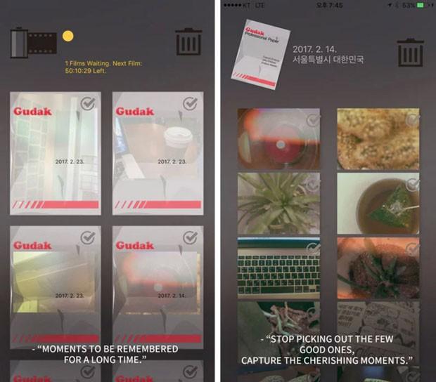 App retrô transforma celular em máquina fotográfica analógica (Foto: Divulgação)