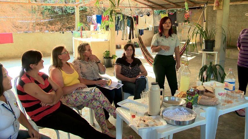 Cooperativa Núcleo Feminino da Coopeavi  (Foto: Divulgação/ TV Gazeta)