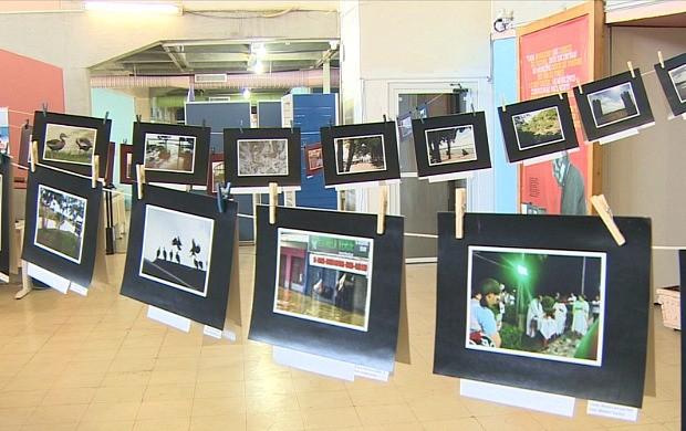 Exposição fotográfica 'Além das Fronteiras' é realizada em Porto Velho (Foto: Rondônia TV)