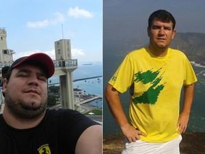 Depois do susto, ele perdeu 36 kg e ganhou mais disposição para aproveitar o tempo com os filhos pequenos (Foto: Arquivo pessoal/Leo de Azevedo Ferreira Santos)