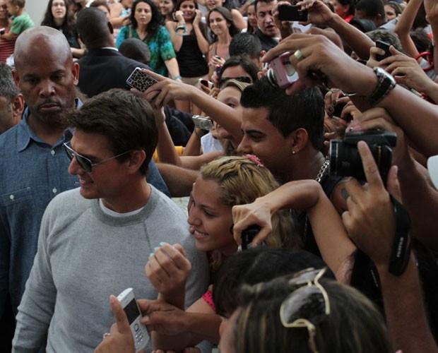 Tom Cruise (Foto: Henrique Oliveira e Roberto Cristino/Foto Rio News)