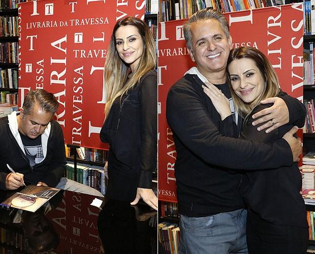 Orlando Morais e Cleo Pires (Foto: Roberto Filho/AgNews)
