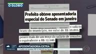 Crivella vai receber R$ 12.540,00 do Senado