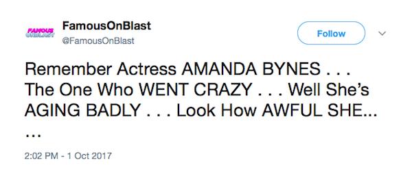 Amanda Bynes (Foto: Twitter)