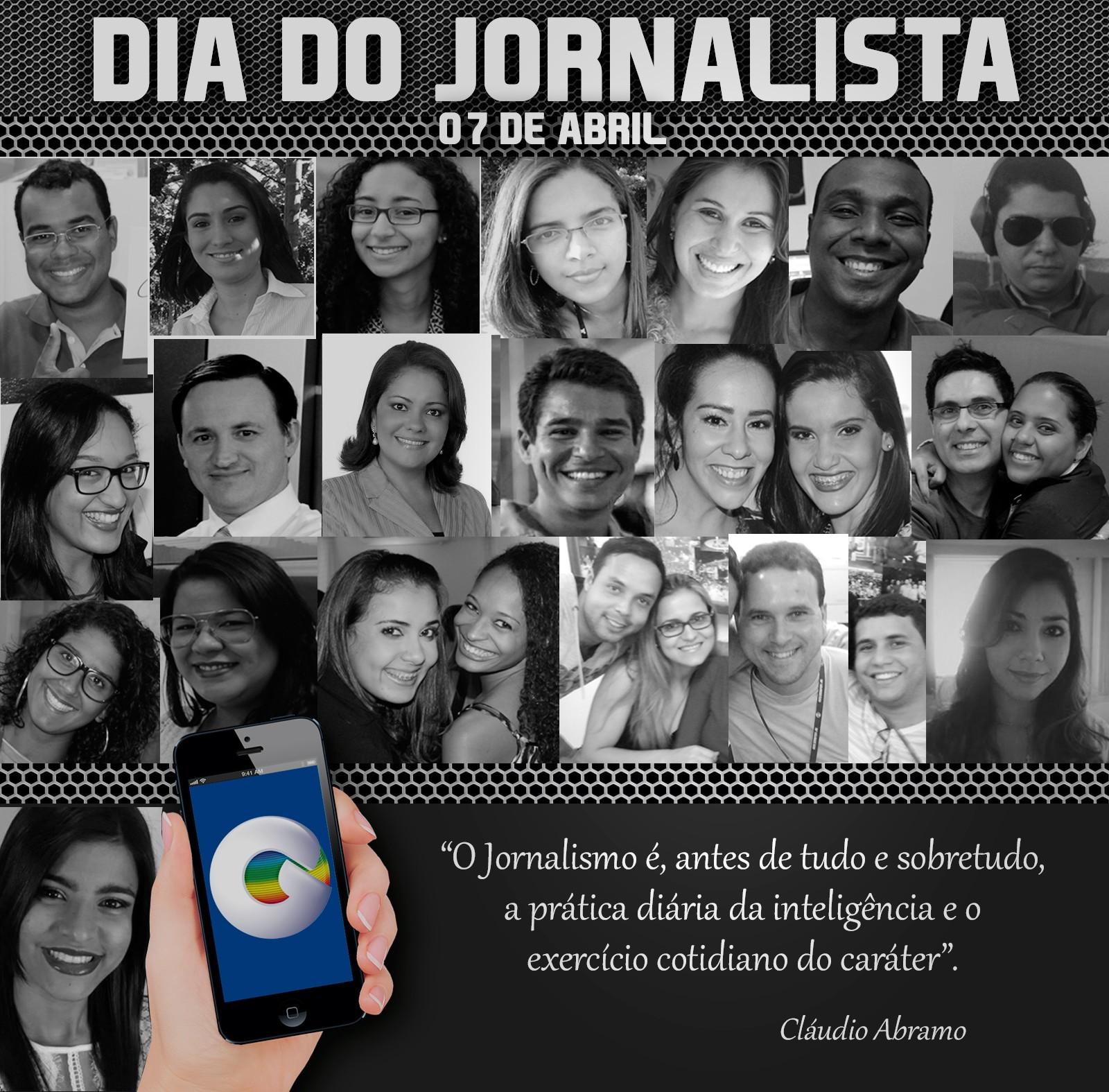 A TV Grande Rio possui 25 jornalistas em seu quadro de profissionais (Foto: Arte TV Grande Rio/ Paulo César)