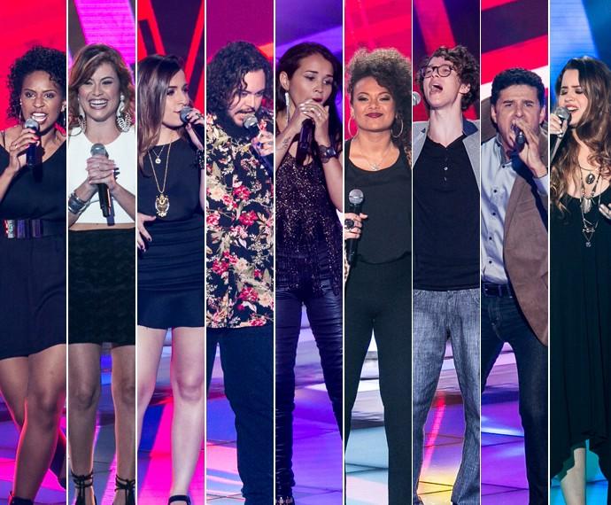 Nove vozes encantaram os técnicos na segunda noite de Audições às Cegas (Foto: Isabella Pinheiro/Gshow)