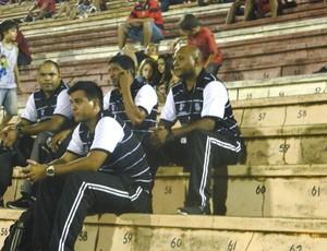 Aldo Santo técnico do Santos-AP na Copa São Paulo de Futebol Júnior (Foto: Marcos Lavezo/Globoesporte.com)