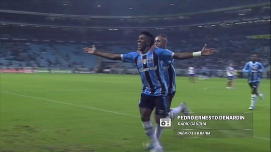 """Redação AM: narrador exalta Cortez, do Grêmio, e critica """"cera"""" do Bahia"""
