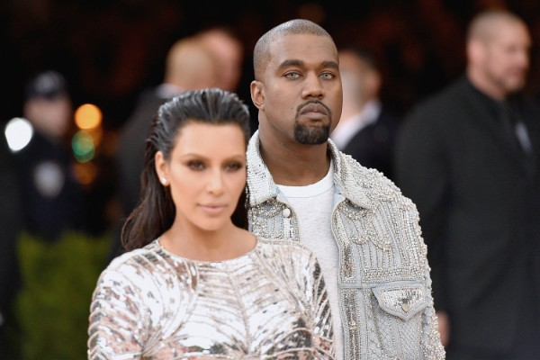 Kim Kardashian e Kanye West no MET Gala 2016 (Foto: Getty Images)