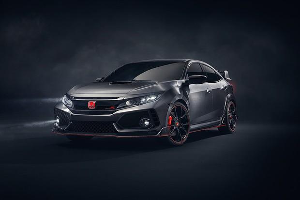 Novo Honda Civic Type R é mostrado sob forma de conceito (Foto: Divulgação)
