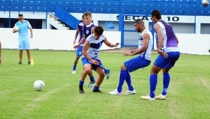 Treino Marília (Foto: Divulgação/ Marília FC)
