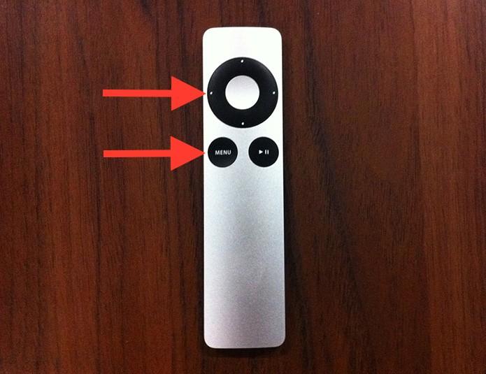 Desemparelhando um Apple Remote de uma Apple TV (Foto: Reprodução/Marvin Costa)