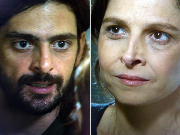 Jairo quer que Cora cumpra acordo (Foto: TV Globo)
