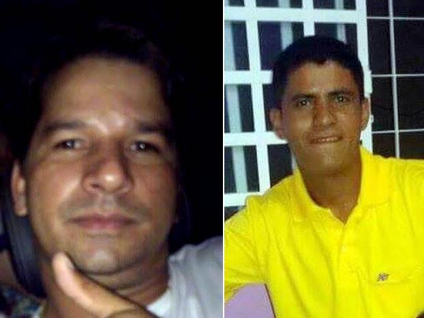 Wagner França (à esquerda) e o cunhado dele, Fábio de Campos (à direita), estão desaparecidos há três dias em Mato Grosso (Foto: Arquivo pessoal)
