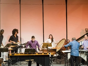 Grupo de Percussão do Conservatório de Tatuí (Foto: Divulgação/ Conservatório de Tatuí)