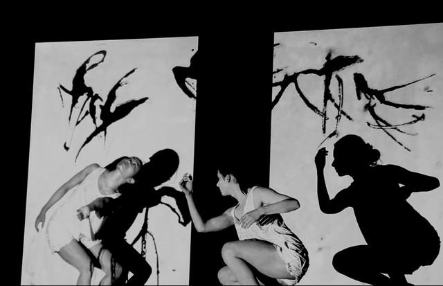 """Art of Movement"", com Zaneta Majcher e Kaori Ito (virtual) (Foto: Billy Cowie)"