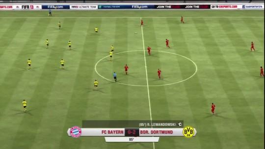 Borussia leva a melhor e goleia Bayern em simulação da final da UEFA