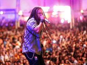 O Rappa foi a terceira banda a entrar no palco principal do Planeta Atlântida (Foto: Jefferson Bernardes /Agência Preview/Divulgação)