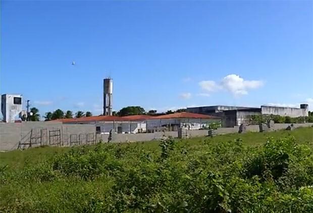 Penitenciária Estadual de Parnamirim (PEP) (Foto: Reprodução/Inter TV Cabugi)