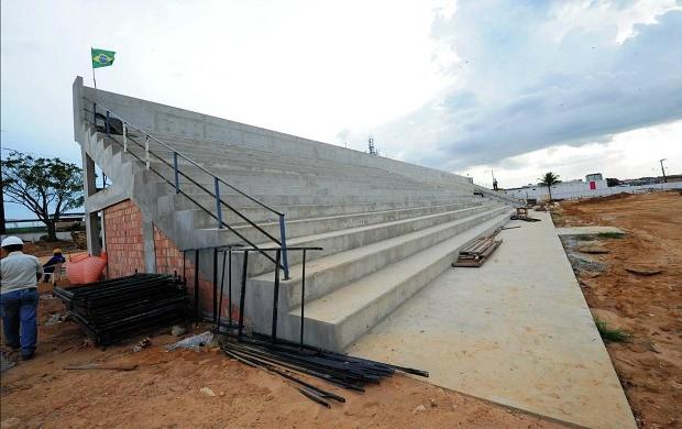 Estádio da Colina Manaus (Foto: Roberto Carlos/Agecom)