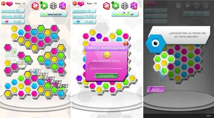 Hexic é um puzzle de sucesso no Xbox que chega agora ao Windows Phone (Foto: Divulgação/Windows Phone Store)