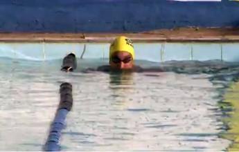 Campeão mundial de natação passa por Porto Velho em busca de talentos