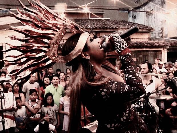 Gaby lança DVD neste sábado (23) em Belém (Foto: Divulgação)