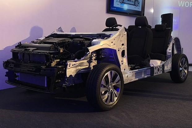 Volkswagen dá mais detalhes sobre a plataforma MQB do novo Polo (Foto: Michelle Ferreira / Autoesporte)