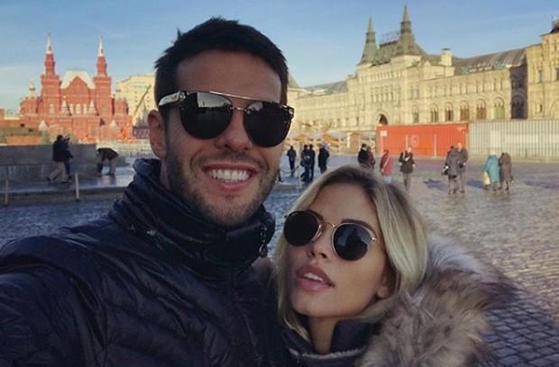 Carol Dias e Kaká (Foto: Reprodução/Instagram)