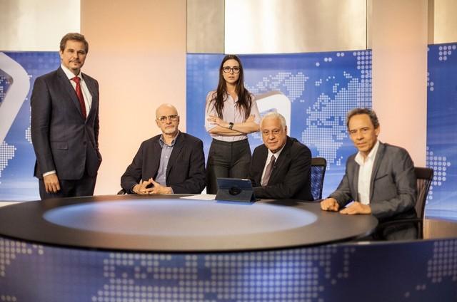 Antonio Fagundes atua em '15 segundos, o filme', com Edson Celulari, Marcos Caruso, Alexandra Martins e Emilio de Mello (Foto: Divulgação)