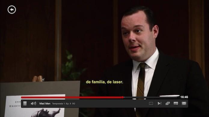 Precisando ajustar as legendas do Netflix? (Foto: Reprodução/Edivaldo Brito)