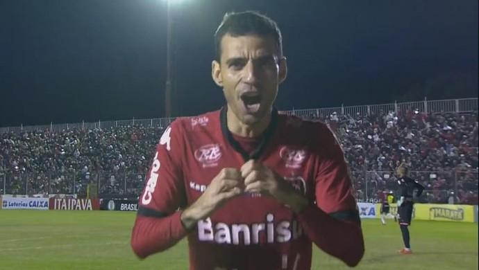 Brasil de Pelotas, Paysandu, Série B, Bento Freitas, Diogo Oliveira (Foto: Reprodução / Premiere)