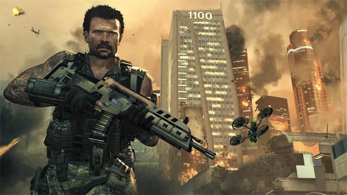 Controle soldados na década de 80 e em 2025 em Call of Duty Black Ops 2 (Foto: Divulgação/Activision)