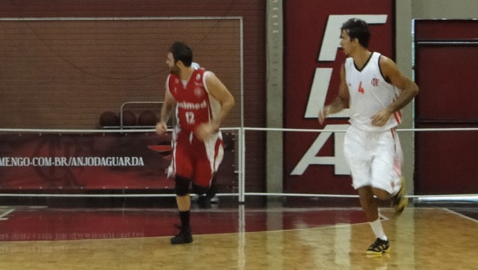 basquete Flamengo x Paulistano (Foto: Fabio Leme)