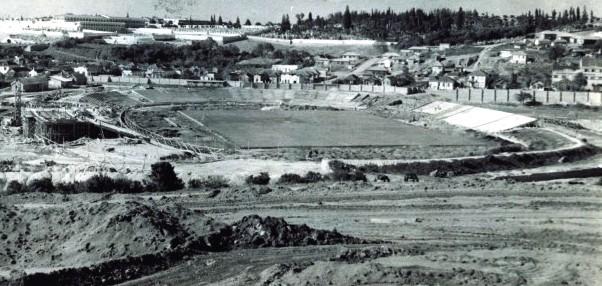 olímpico 1952 estrutura grêmio (Foto: Arquivo do Memorial Hermínio Bittencourt)