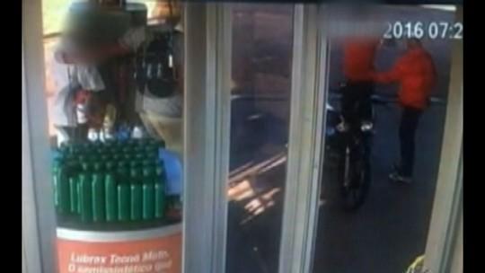 Vídeo registra assalto a um posto de combustíveis em Mãe do Rio, no Pará
