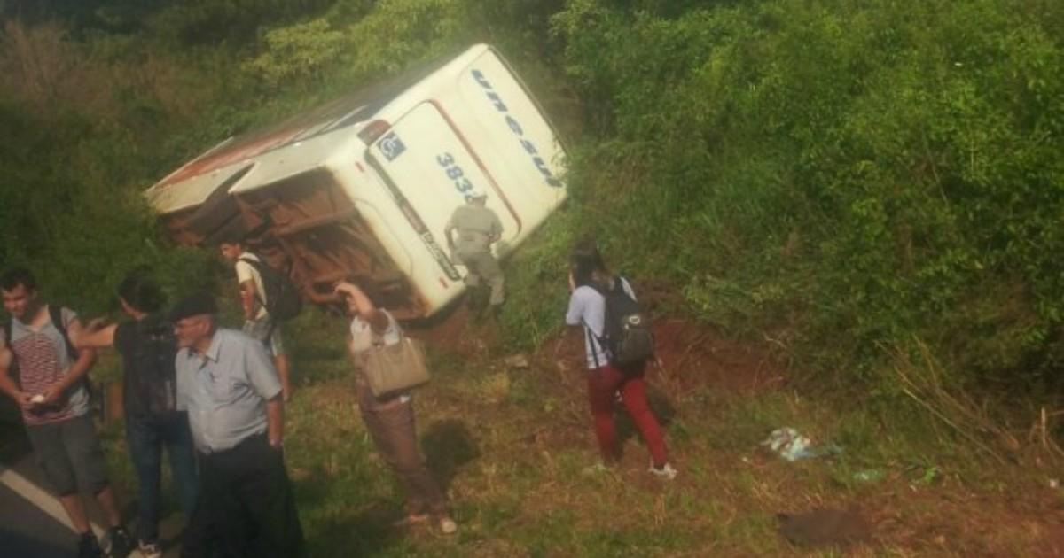 Acidente com ônibus deixa feridos em Coxilha, no Norte do RS - Globo.com