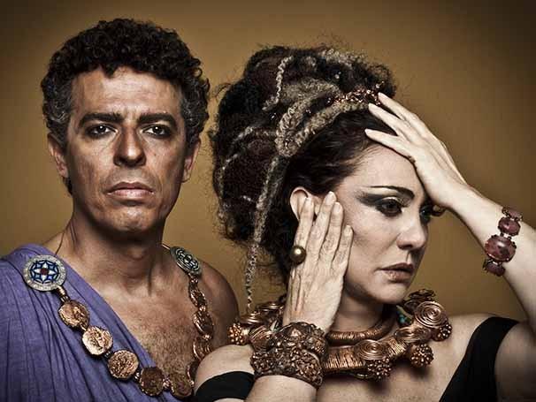 Atriz protagoniza a viúva que se casa com Édipo sem saber que é seu filho (Foto: Murillo Meirelles)