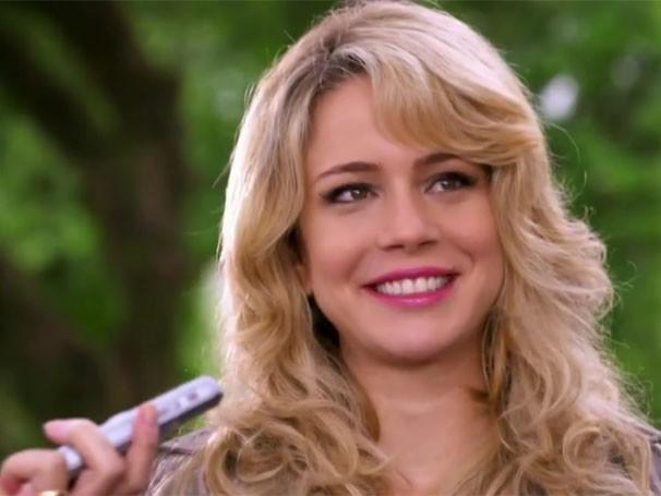 Cor de cabelo da Rosário fica em quarto lugar (Foto: Divulgação/TV Globo)