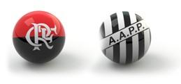 Confrontos guia da rodada bolas - Flamengo x Ponte Preta (Foto: Editoria de Arte)