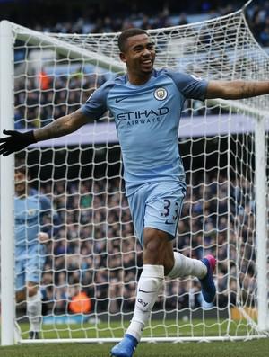 Gabriel Jesus Manchester City Swansea (Foto: Reuters)