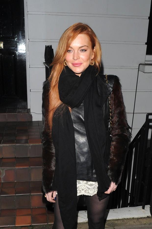 Lindsay Lohan (Foto: Grosby Group/Agência)