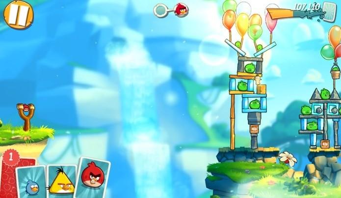 Angry Birds 2 é o jogo mais baixado da semana na Google Play (Foto: Reprodução / Dario Coutinho)