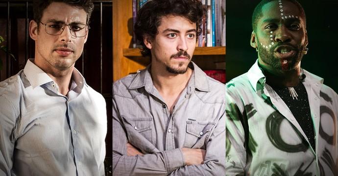 Melhores do Ano: categoria melhor ator de série, minissérie e seriados (Foto: TV Globo)