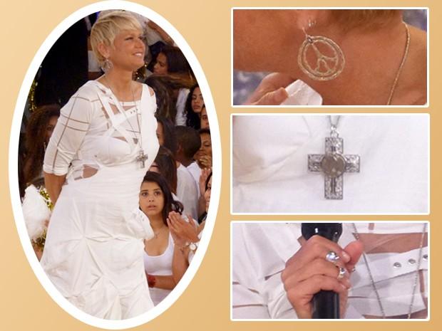 Copie o figurino de Xuxa inspirado no Réveillon (Foto: TV Xuxa / TV Globo)