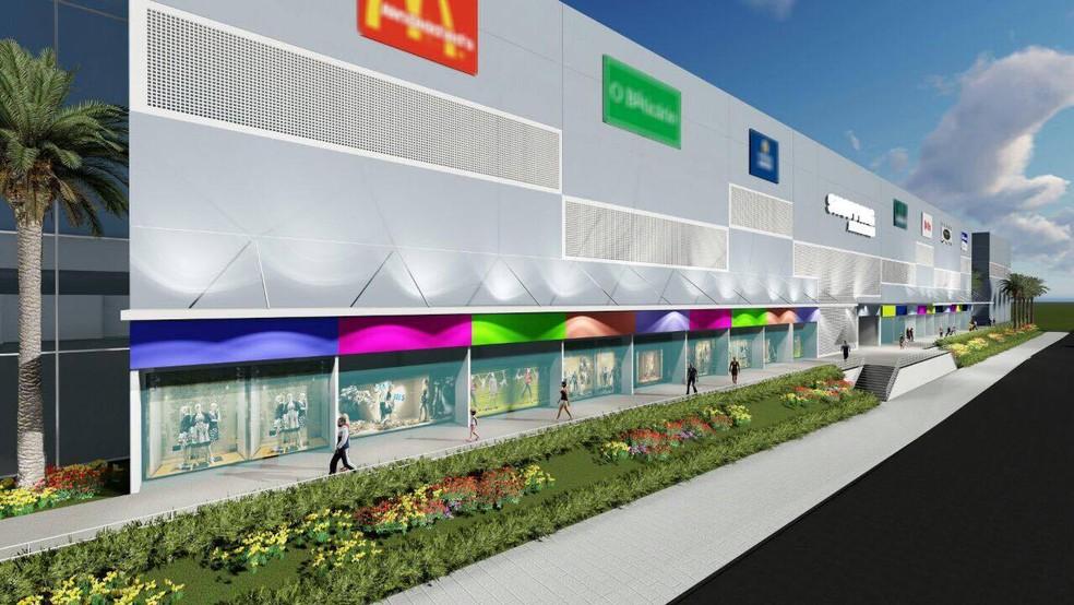 Operação de shopping deve oferecer 800 empregos diretos (Foto: MAP Mall/Divulgação)