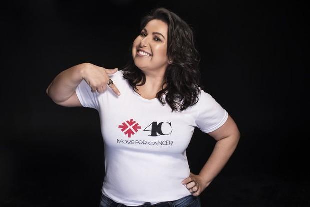 Mariana Xavier (Foto: Move4Cancer / Divulgação)