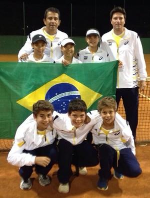 Sul-Americano de Tênis 2014 - Brasil 12 anos - Roberto Cotrim (Foto: Reprodução/ CBT)