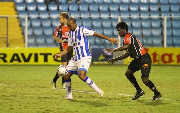 Sandro e Beto Avaí x Joinville (Foto: Jamira Furlani/ Avaí FC)